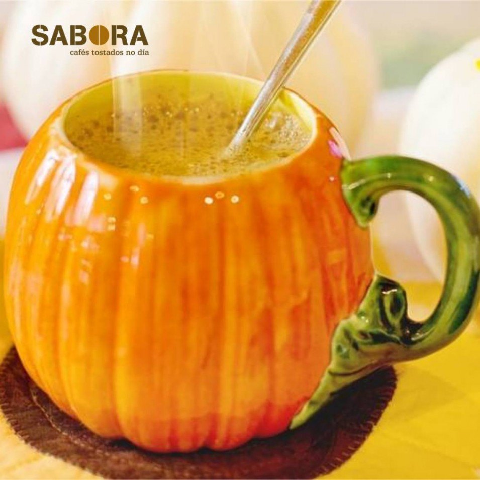 Un Pumpkin Spice Latte para el otoño