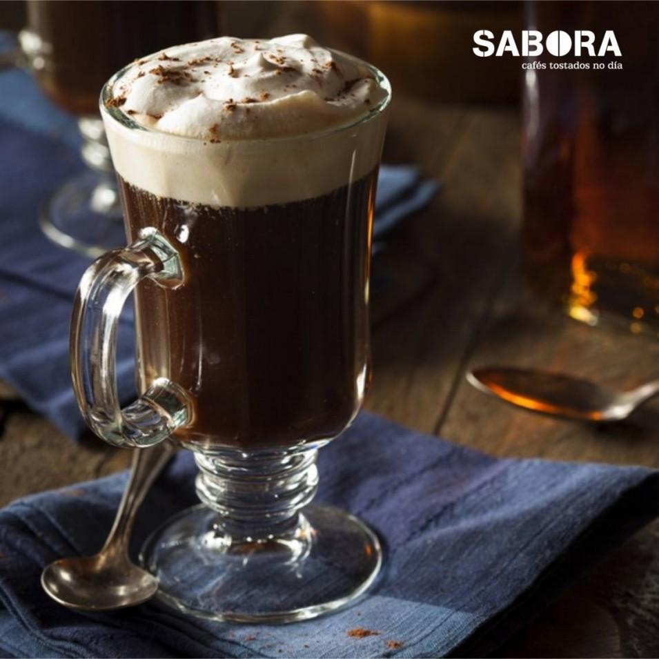 Carta de cafés para o frío o café irlandés un dos imprescindibles.
