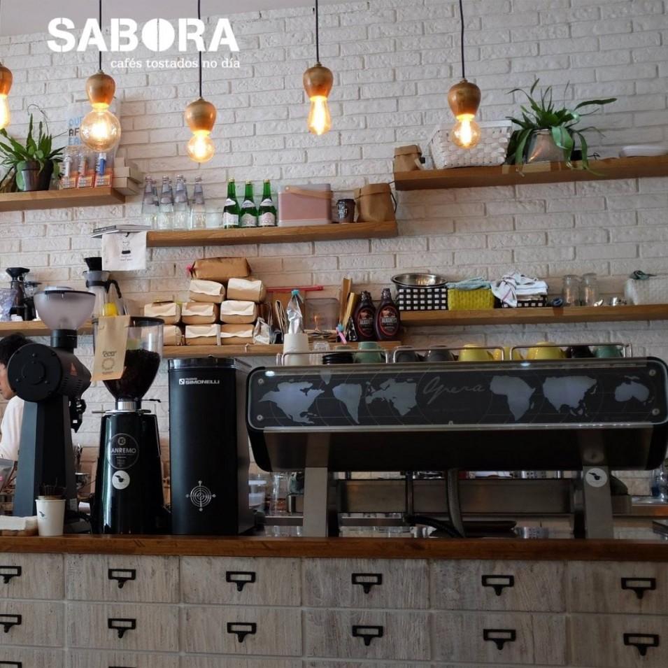Barra dunha cafetería