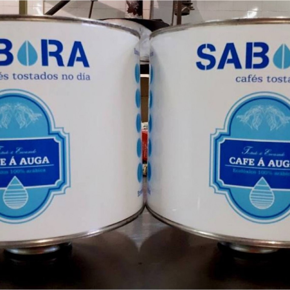 Café descafeinado al agua de Cafés Sabora.