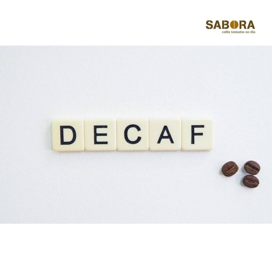 Organic decaffeinated