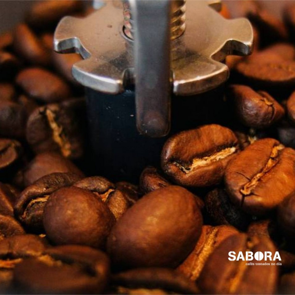 Mecanismo del molinillo de café