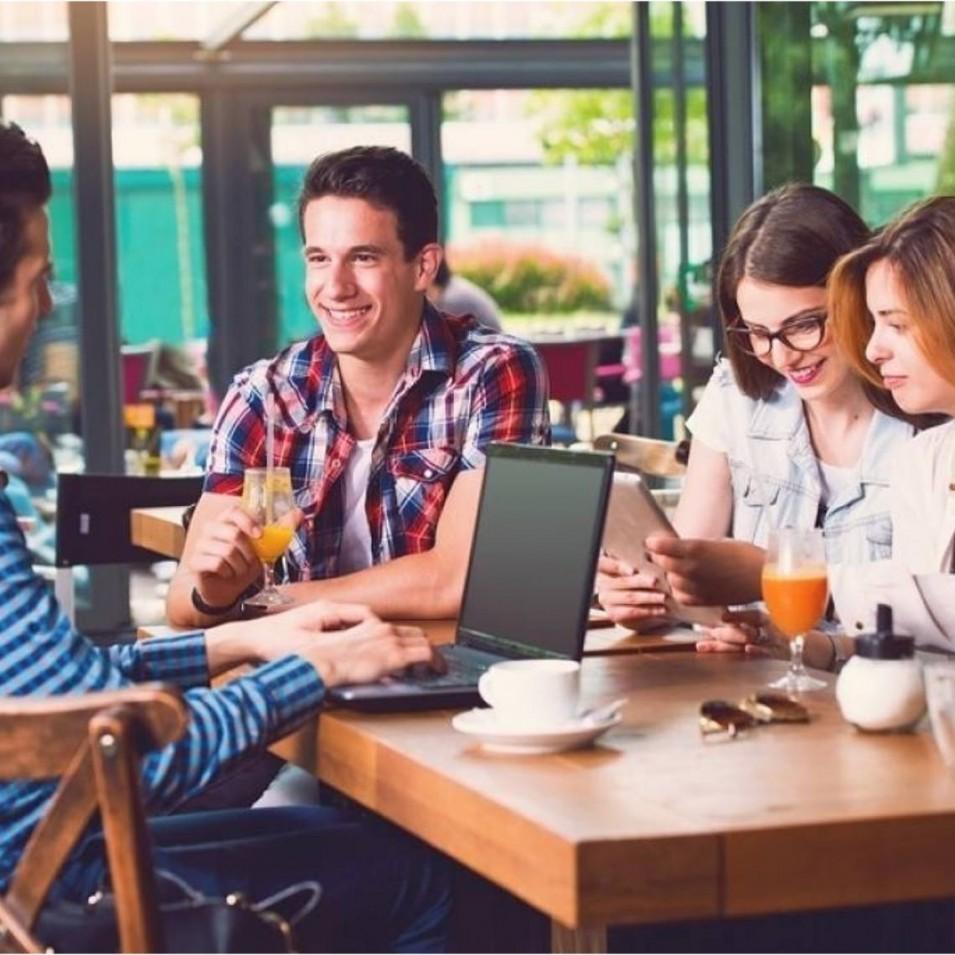Plan de  marketing na cafetería