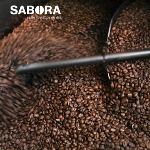 Grans de café torrado